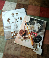 MLB BASEBALL GREATS-Lou Gehrig Rodger Maris Picture MICKEY MANTLE Puzzle