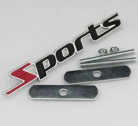 Sports Auto Grill Frontgrill Emblem Badge Abzeichen Schriftzug Plakette