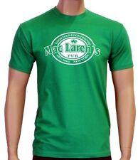 Coole-Fun-T-shirts Girly Camiseta Mac Laren Pub Irlandés/Verde/Pequeño