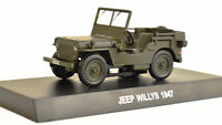 Jeep Willys 1947,Scale 1:43 by Altaya