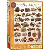 EG60000411 - Eurographics Jigsaw  Puzzle 1000 Piece - Chocolate