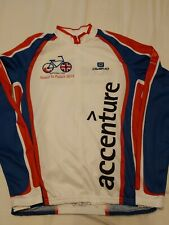 OWAYO ACCENTURE MEN'S LONG SLEEVE JERSEY SIZE L  EXCELLENT CONDITION