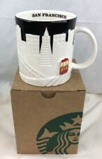 Starbucks San Francisco Mug 2012 Limited Edition Collector Series Skyline Relief