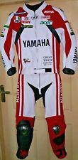 Custom Made Yamaha Racing Motorcycle Leather Street 1 and 2 Piece Motorbike Suit