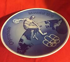 Royal Copenhagen ~ Olympiade Montreal 1976~ Collector Plate ~Denmark