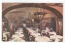 Hotel Benson Grille Portland Oregon 1910c postcard