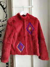 Gianni Versace Jeans Couture  real rabbit fur coat extremely rare good condition