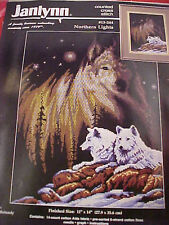 Counted Cross Stitch Kit Janlynn Northern Lights 14 Count Aida 13-244 Reinardy