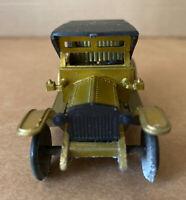Vintage Metal Miniature Pencil Sharpener Rolls Royce, Bronze Finish