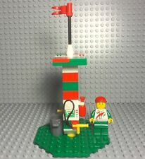 Lego New MOC City Mini Octan Gas Station With Pumps,Service Mini Figure Set Up