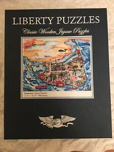 Liberty Wooden Puzzle, Nantucket, 468 pieces