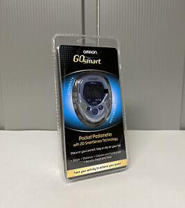 Omron GOsmart Pocket Pedometer W/2D Smart Sensor Technology - HJ-112 - BRAND NEW