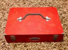 SKYLANDERS SUPERCHARGERS GARAGE STORAGE CASE BOX WITH INSERTS RARE LOVELY