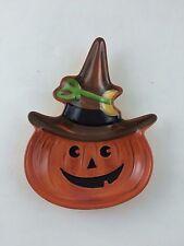 Longaberger Pottery Halloween Pumpkin