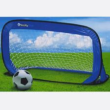 Pop Up Fußballtor Heringe Fußball Spaß Mini Garten Soccer Tor Goal 122x66x66cm