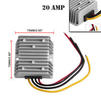 48 Volt to 12 Volt Reducer Fit for 20 AMP Golf Cart 36V/48V to 12V DC Converter