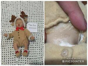 Ashton Drake Doll 'Ringle Deer '1st Issue Ringle In The Holidays 2004