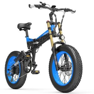 Electric Bicycle 48v 1000W Battery Polegated Snow Bicycle Fat tire X3000
