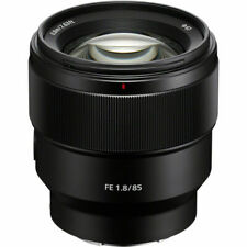 Sony FE 85mm f/1.8 Telephoto Lens