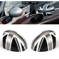 WING MIRROR CAPS COVER UNION JACK FOR BMW MINI COOPER R55 R56 R60 High Quality
