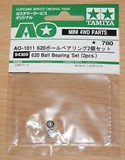 Tamiya 94389 620 Ball Bearing Set (2 Pcs.) (Avante 2011/Egress/Vajra), NIP