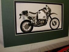 1985 BMW R80 GS Paris Dakar  German Motorcycle Exhibit from Automotive Museum