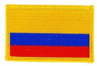 COLOMBIA COLOMBIAN FLAG PATCHES backpack PATCH BADGE IRON ON NEW EMBROIDERED