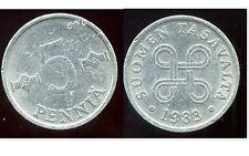 FINLANDE 5 pennia  1983  ( bis )