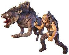 """Lotr~Sharku & Warg Beast~Dlx Beast & Rider~6"""" Figure Set~Toy Biz~Mib"""