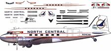 North Central Cargo Douglas DC-3 C-47 airliner decals for Minicraft 1/144 kits