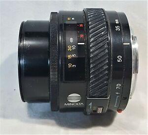 MINOLTA  AF 35-70mm F/4 SLR camera zoom lens macro minolta mount (from 5000body)