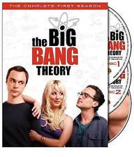 The Big Bang Theory: Season 1, Very Good DVD, Jim Parsons, Kaley Cuoco, Johnny G