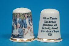 Prince Charles 70th Birthday Photo With The Family 2018 China Thimble B/96