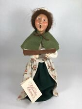Byers Choice Carolers Williamsburg Christmas Woman with Music Book 1999 Signed