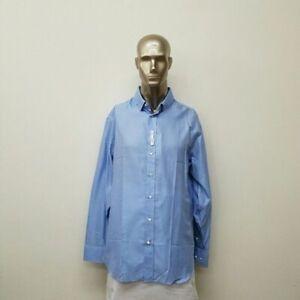 Armani Collezioni Button Down Shirt (Blue)