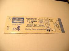 New York Rangers 4/25/1974 Stanley Cup Playoffs Full Ticket Stub vs Philadelphia