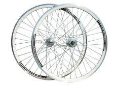 ACCENT Roadrunner Fixed Gear Wheels White Joytech Fixie Single Speed Track Bike