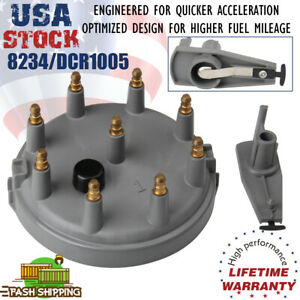 Heavy Duty Distributor Cap and Rotor Kit For Ford Lincoln F-250 F-150 F-350 8234