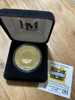 Los Angeles Lakers Highland Mint 2020 NBA Finals Champion Gold Mint Coin IN HAND