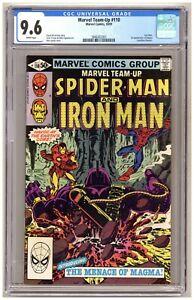Marvel Team-Up 110 (CGC 9.6) Spider-Man; Iron Man; 1st appearance of Magma B969