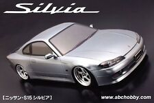 ABC HOBBY RC 1/10 SuperBody NISSAN S15 SILVIA Clear Body Drift PANDORA D-like