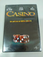 Casino Martin Scorsese Robert de Niro Sharon Stone Joe Pesci - DVD nuevo