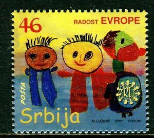 SERBIA 2009 Joy Europe  MNH  Unused Individual  stamp
