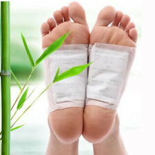 10PCS Kinoki Detox Foot Patches Pads Body Toxins Feet Slimming Cleansing Herbal