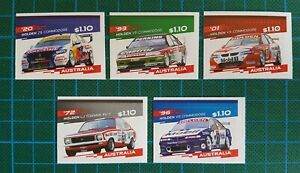 AUSTRALIA - 2021 HOLDEN'S FINAL ROAR SET OF 5 S/A  MNH *FREE POSTAGE* SHIPS NOW!