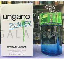 EMANUEL UNGARO POWER EAU DE TOILETTE 90ML EDT SPRAY POUR HOMME PROFUMO UOMO