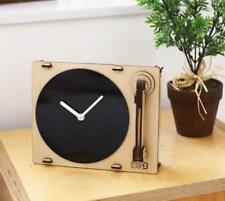 Woodsum Wood Maple Turntable Clock Kit  Buildable Gift NIB Do It Yourself