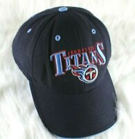 NFL Apparel Tennessee Titans Blue Men's Cap Hat Adjustable Hook & Loop Fit OSFA