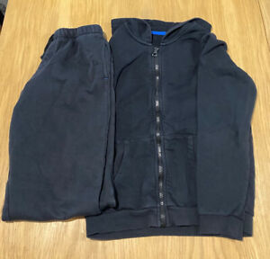 George Black Tracksuit, Age 10-12.  Ideal For PE. Good Used Condition.