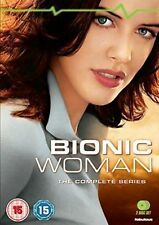 Bionic Woman The Complete Series 5030697035721 With Miguel Ferrer DVD